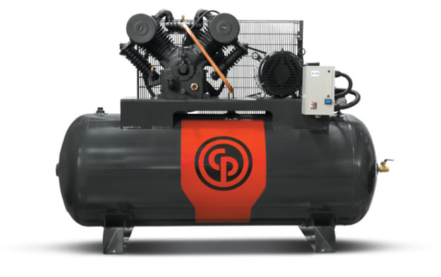 Chicago Pneumatic Two Stage Electric Duplex Compressors